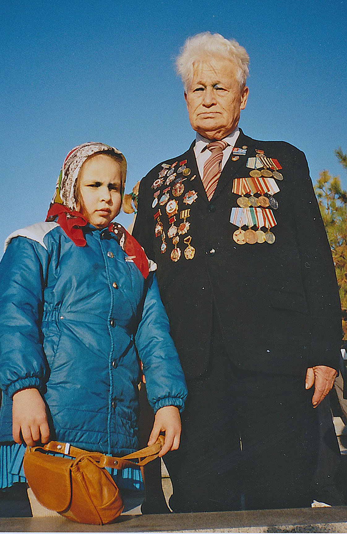 For young and old, hope for healthcare in Central Asia. (Tashkent, Uzbekistan, 1990)