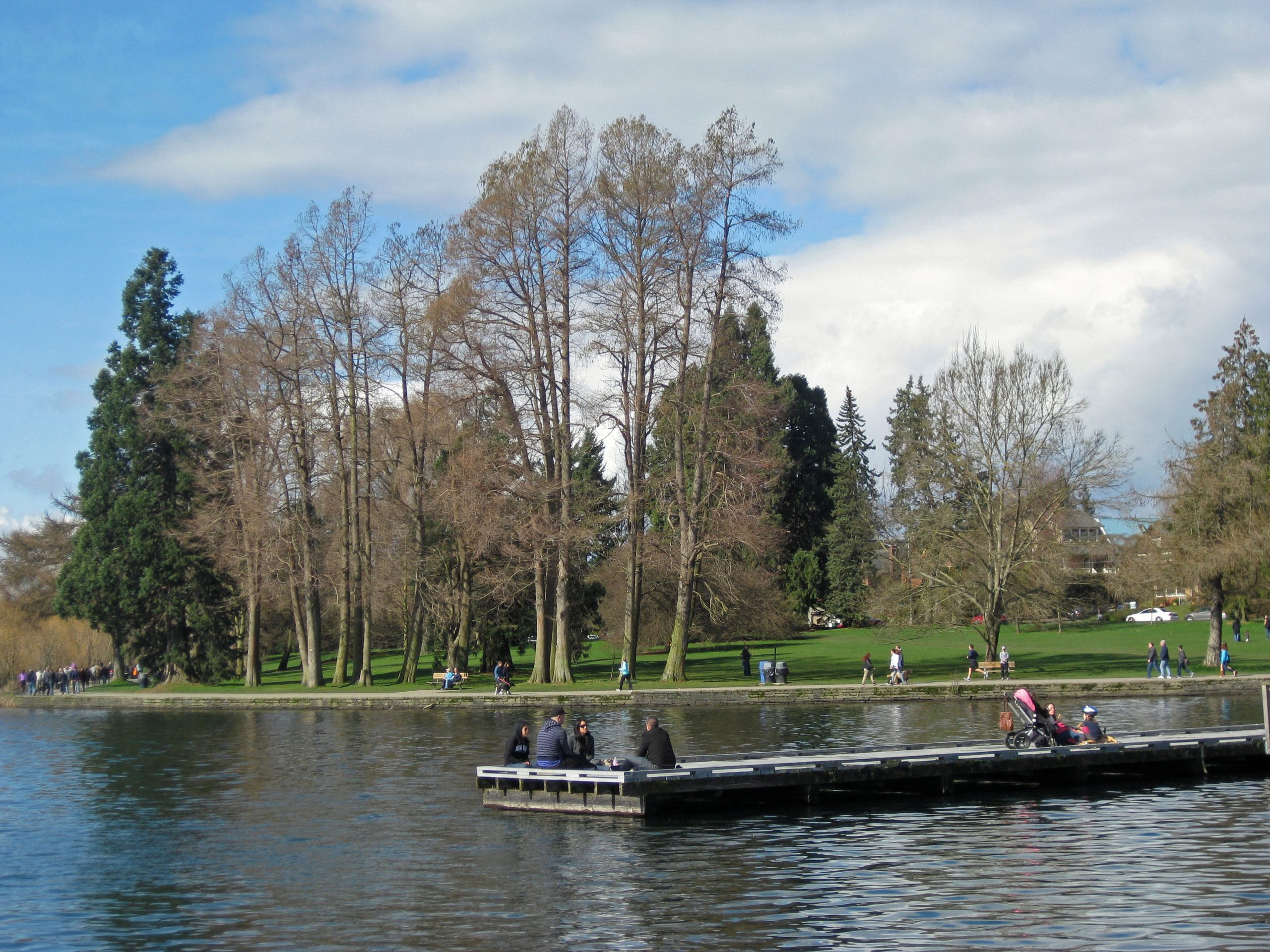 Green Lake: resting place.