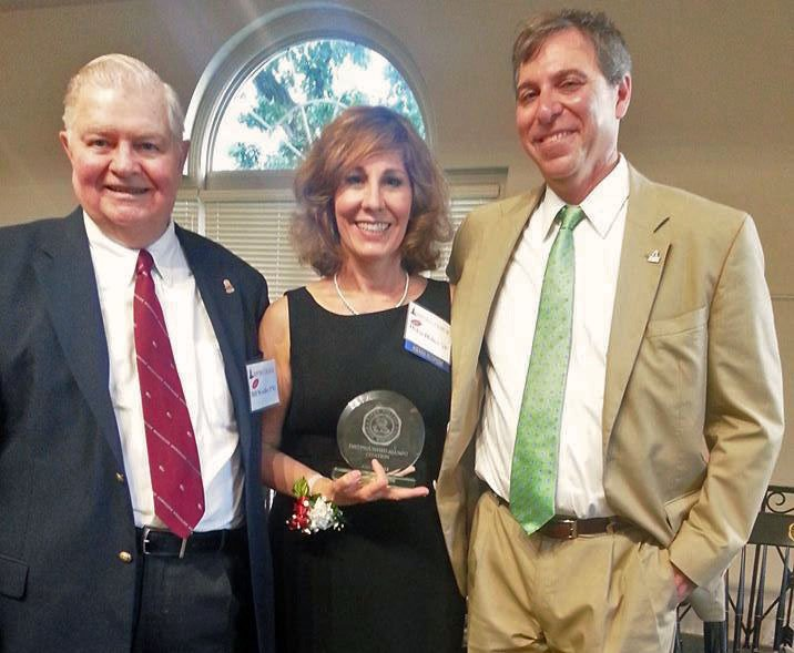 I'm with Dr. Bill Woolley and President Dr. Zach Messitte at the Ripon College Alumni Awards Dinner (Ripon, Wisconsin – June 28, 2013)