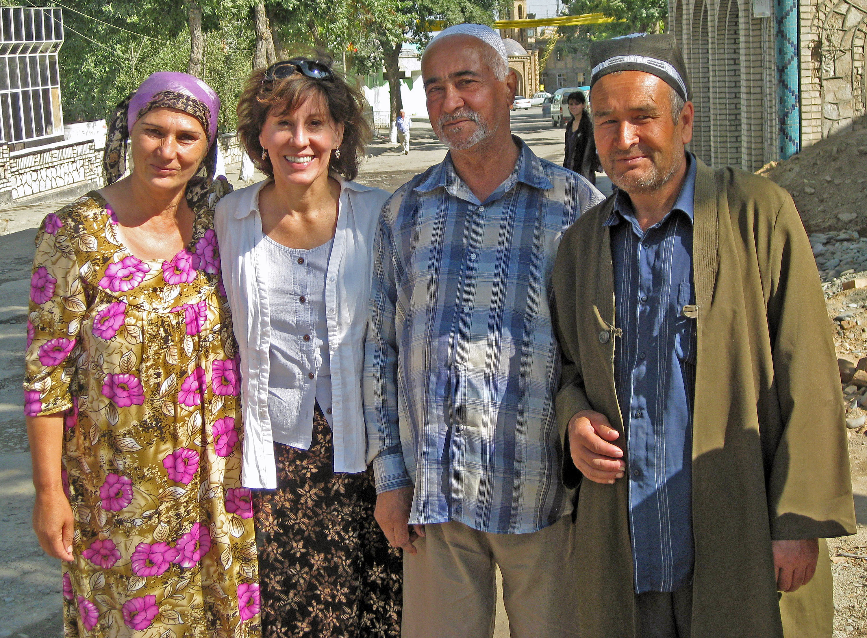 I'm surrounded by that warm and welcoming spirit of Uzbeks, and Uzbekistan. (2008)