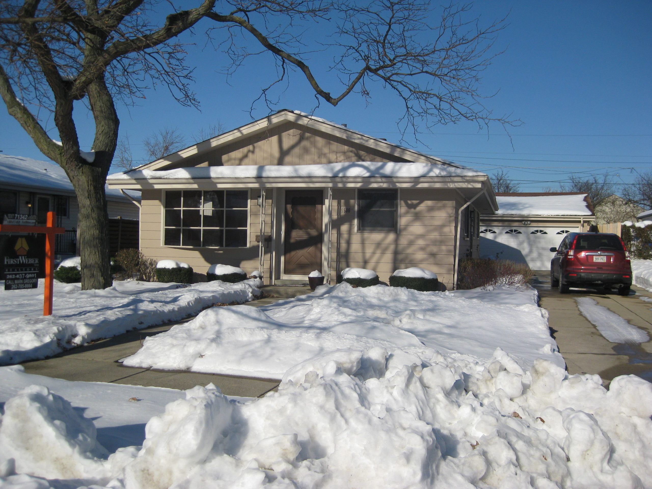 arewell to the house of my teen and college years: now for sale and pending in Racine, Wisconsin.