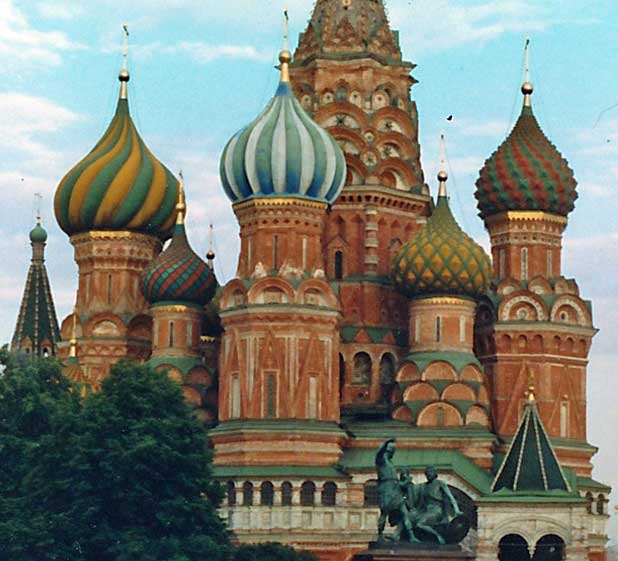 St. Basil's Cathedral, Moscow, Red Square, Russia