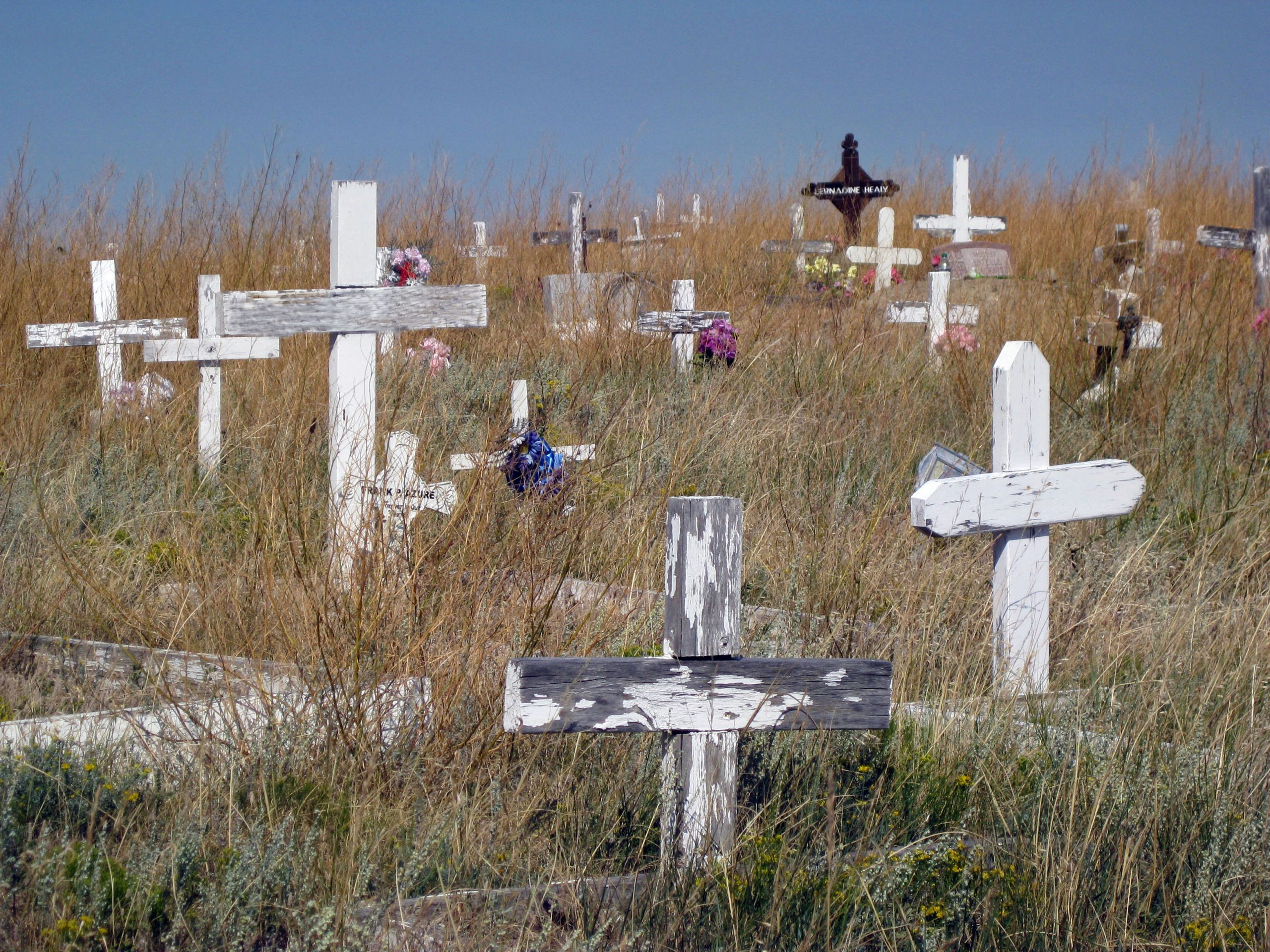 Montana, church graveyard.