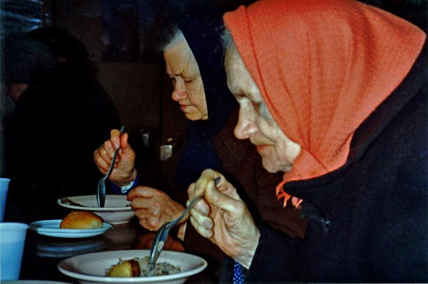 In 1994, more than 25% of Russians lived in poverty (Moscow, Russia) Photo credit: Helen Holter