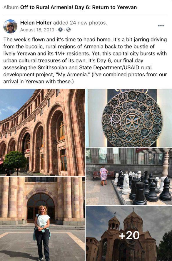Facebook-Armenia, Day 6
