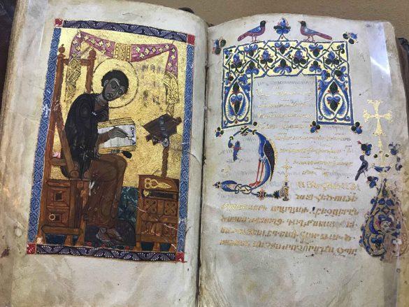 Armenia-Yerevan-Matenadaran Museum-book