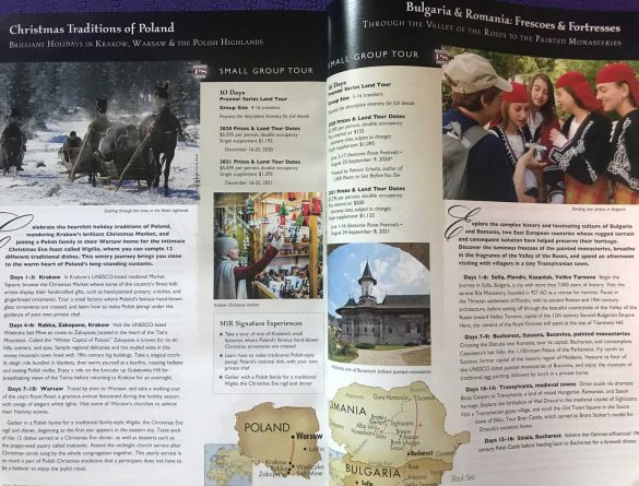 Catalog-Tours in Eastern Europe