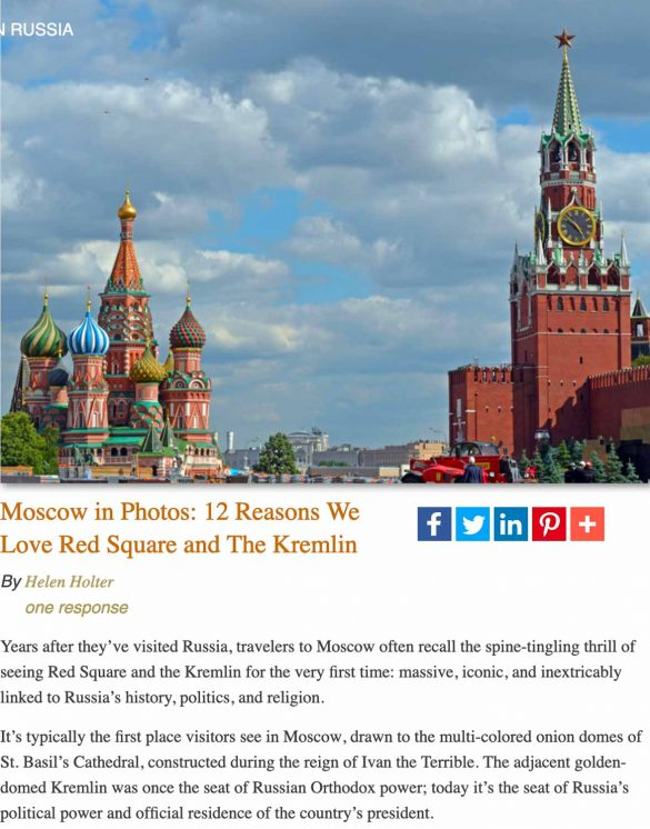 Red Square and Kremlin-Moscow, Russia