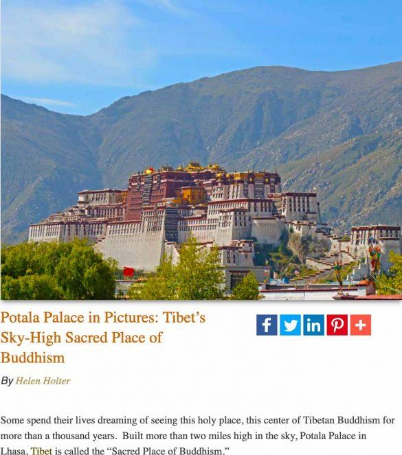 Potala Palace-Lhasa, Tibet